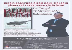 KKTC li Yazar Dr.Turgül Tomgüsehan  İstanbul da okuyucularıyla buluşuyor